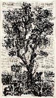 Tree 'Winterreise,' no. 4 of the series; Wiiliam Kentridge, artist